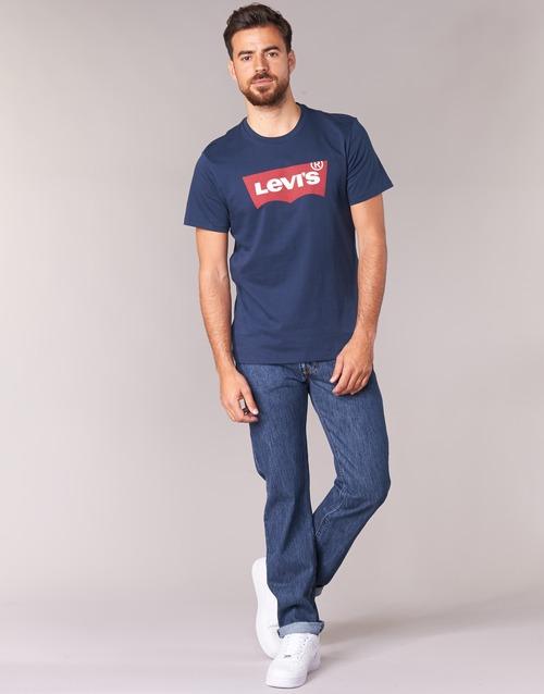 vaatteet Miehet Suorat farkut Levi's 501® Levi's®ORIGINAL FIT Kivipesu