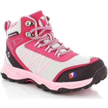 kengät Lapset Vaelluskengät Kimberfeel VINSON Vaaleanpunainen