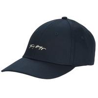Asusteet / tarvikkeet Naiset Lippalakit Tommy Hilfiger SIGNATURE CAP Laivastonsininen