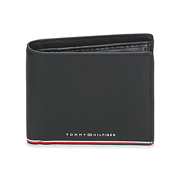 laukut Miehet Lompakot Tommy Hilfiger TH COMMUTER EXTRA CC AND COIN Musta