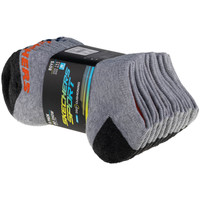 Asusteet / tarvikkeet Lapset Sukat Skechers Boys 6pk No Show Socks Grise