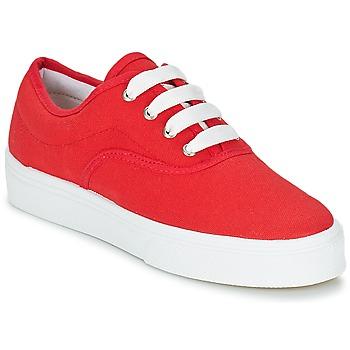 kengät Naiset Matalavartiset tennarit Yurban PLUO Punainen