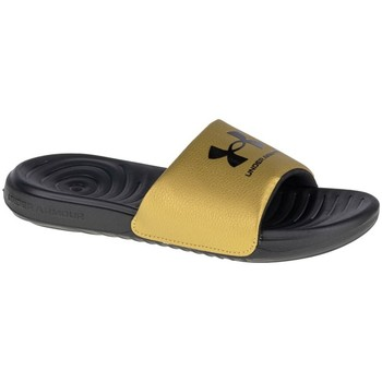 kengät Naiset Rantasandaalit Under Armour Ansa Fixed Slides Keltaiset, Grafiitin väriset