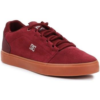 kengät Miehet Matalavartiset tennarit DC Shoes Hyde Tummanpunainen