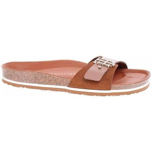 kengät Naiset Sandaalit Tommy Hilfiger FW0FW05622 GU9 Ruskeat