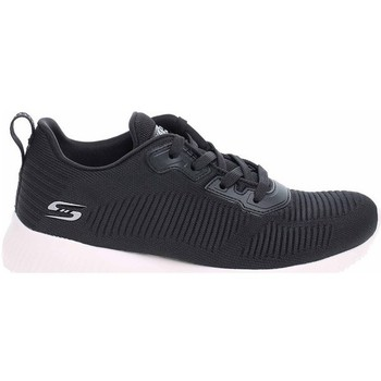 kengät Naiset Matalavartiset tennarit Skechers Bobs Squad Tough Mustat