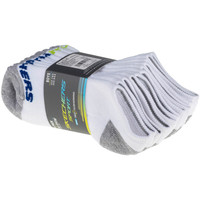 Asusteet / tarvikkeet Lapset Sukat Skechers Boys 6pk No Show Socks Blanc