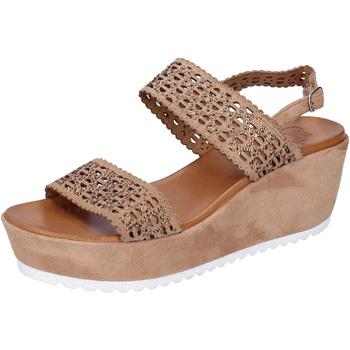 kengät Naiset Sandaalit ja avokkaat Femme Plus BJ895 Ruskea