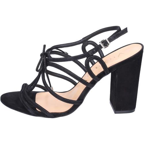 kengät Naiset Sandaalit ja avokkaat Vicenza Sandaalit BJ910 Musta