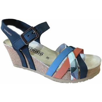 kengät Naiset Sandaalit ja avokkaat Mephisto MEPHLANNYnavy blu