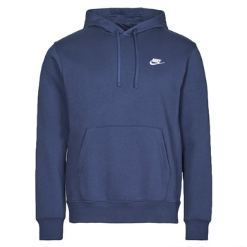 vaatteet Miehet Svetari Nike NIKE SPORTSWEAR CLUB FLEECE Laivastonsininen / Valkoinen