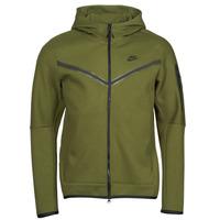 vaatteet Miehet Ulkoilutakki Nike NIKE SPORTSWEAR TECH FLEECE Vihreä / Musta