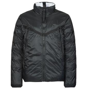 vaatteet Miehet Toppatakki Nike M NSW TF RPL REVIVAL REV JKT Musta / Harmaa