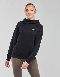 vaatteet Naiset Svetari Nike NIKE SPORTSWEAR ESSENTIAL Musta / Valkoinen