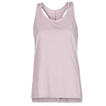 vaatteet Naiset Hihattomat paidat / Hihattomat t-paidat Nike NIKE YOGA Violetti