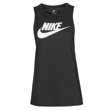 vaatteet Naiset Hihattomat paidat / Hihattomat t-paidat Nike NIKE SPORTSWEAR Musta / Valkoinen