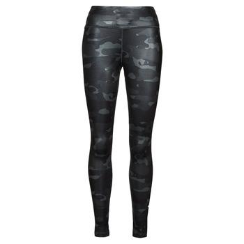 vaatteet Naiset Legginsit Nike W NK ONE DF CAMO MR TGT Harmaa / Valkoinen
