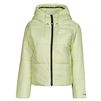 vaatteet Naiset Toppatakki Nike W NSW TF RPL CLASSIC TAPE JKT Vihreä / Musta / Valkoinen