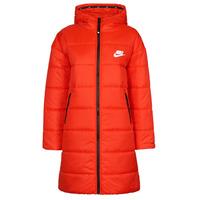vaatteet Naiset Toppatakki Nike W NSW TF RPL CLASSIC HD PARKA Punainen / Musta / Valkoinen