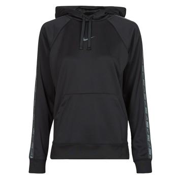vaatteet Naiset Svetari Nike W NSW PK TAPE PO HOODIE Musta