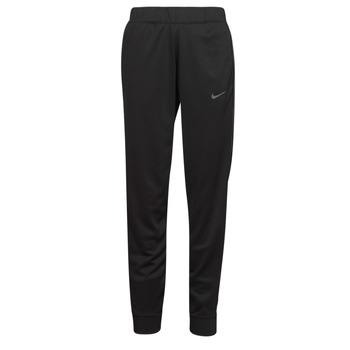 vaatteet Naiset Verryttelyhousut Nike W NSW PK TAPE REG PANT Musta