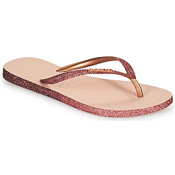 kengät Naiset Varvassandaalit Havaianas SLIM SPARKLE II Vaaleanpunainen