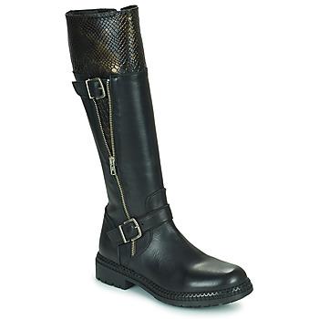 kengät Naiset Saappaat Regard CACHY Musta