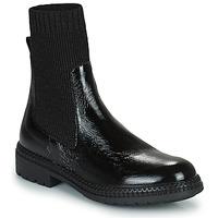kengät Naiset Bootsit Regard CALES Musta