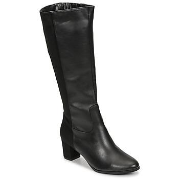 kengät Naiset Saappaat Spot on F50366-BLACK Musta