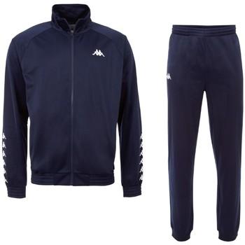 vaatteet Miehet Verryttelypuvut Kappa Till Training Suit Bleu marine