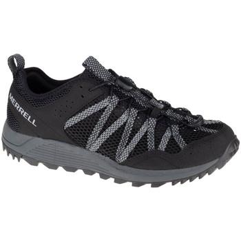 kengät Miehet Juoksukengät / Trail-kengät Merrell Wildwood Aerosport Noir