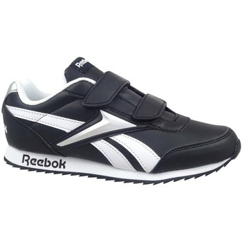kengät Lapset Matalavartiset tennarit Reebok Sport Royal Classic Jogger 2 Valkoiset, Mustat