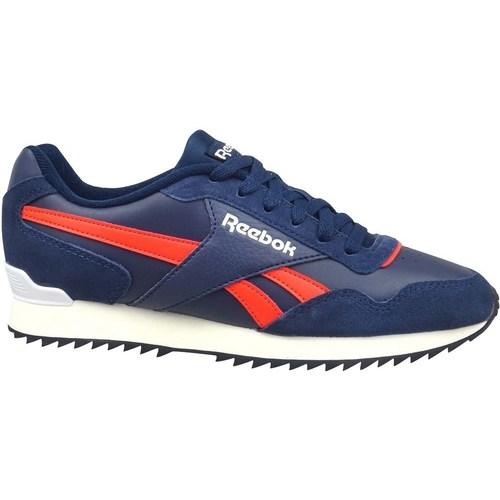 kengät Miehet Matalavartiset tennarit Reebok Sport Royal Glide Ripple Clip Punainen, Vaaleansiniset