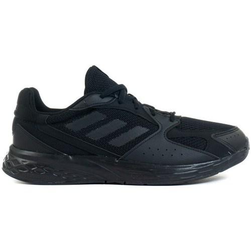 kengät Miehet Juoksukengät / Trail-kengät adidas Originals Response Run Mustat
