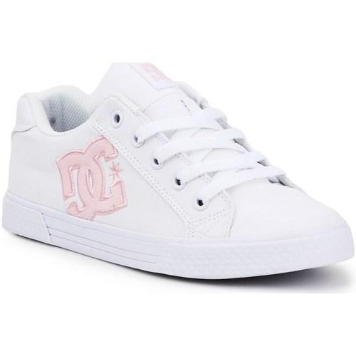 kengät Naiset Matalavartiset tennarit DC Shoes ADJS300243WPW Valkoiset