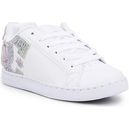 kengät Naiset Matalavartiset tennarit DC Shoes 300678TRW Valkoiset
