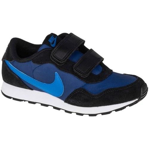 kengät Lapset Matalavartiset tennarit Nike MD Valiant Psv Mustat, Tummansininen