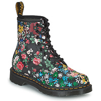 kengät Naiset Bootsit Dr Martens 1460 PASCAL Musta / Monivärinen