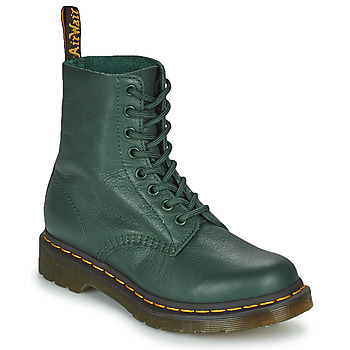 kengät Naiset Bootsit Dr Martens 1460 PASCAL Vihreä
