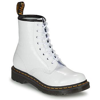 kengät Naiset Bootsit Dr Martens 1460 W Valkoinen