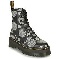 kengät Naiset Bootsit Dr Martens JADON Valkoinen / Harmaa