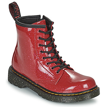 kengät Tytöt Bootsit Dr Martens 1460 J Punainen