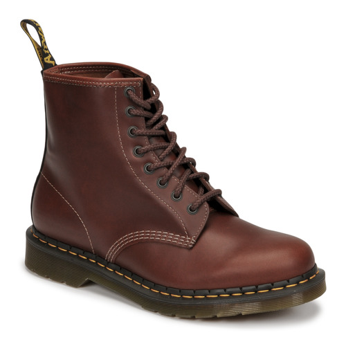 kengät Miehet Bootsit Dr Martens 1460 Ruskea