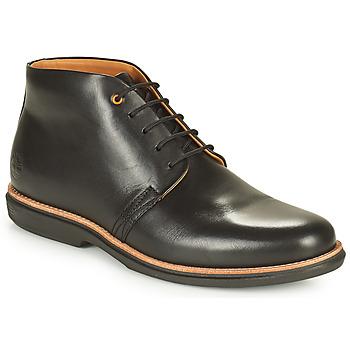 kengät Miehet Bootsit Timberland CITY GROOVE CHUKKA Musta