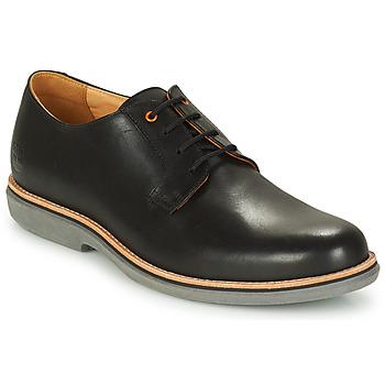 kengät Miehet Derby-kengät Timberland CITY GROOVE DERBY Musta