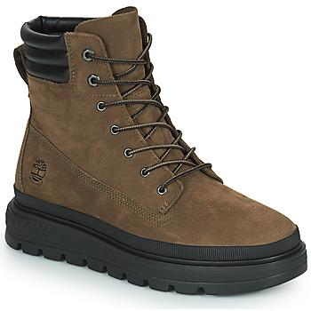 kengät Naiset Bootsit Timberland RAY CITY 6 IN BOOT WP Khaki