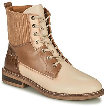 kengät Naiset Bootsit Pikolinos ALDAYA Beige
