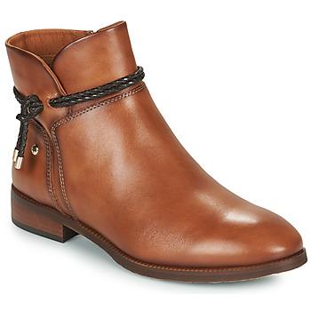 kengät Naiset Bootsit Pikolinos ROYAL Ruskea