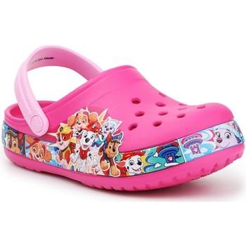 kengät Tytöt Puukengät Crocs FL Paw Patrol Band Clog 205509-670 pink
