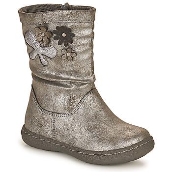 kengät Tytöt Saappaat Chicco CAROL Hopea